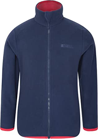 Kids Regatta Brigade Polyester Boys Girls Children Full Zip Micro Fleece Jacket