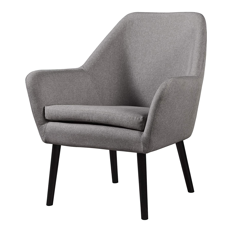 Grey Versanora VNF-00033AF Divano Stylish Industrial Modern Vintage Lounge Chair Sofa, Aged Fabric
