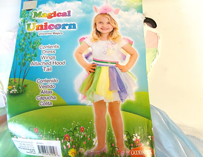 Magical Unicorn Toddler Costume: 2t Size
