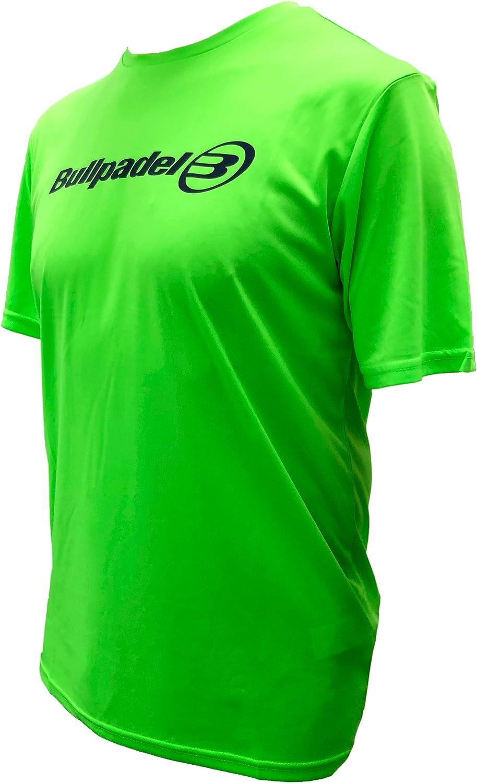 Camiseta Bullpadel Verde Flúor ODP (XXL): Amazon.es: Deportes y ...