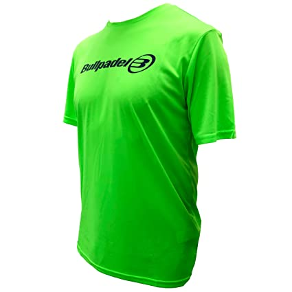 Camiseta Bullpadel Verde Flúor ODP (XL): Amazon.es: Deportes y ...