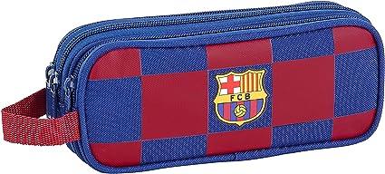 FCB FC Barcelona Estuche, Niños Unisex, Azul Marino, 21x8.5x7: Amazon.es: Ropa y accesorios