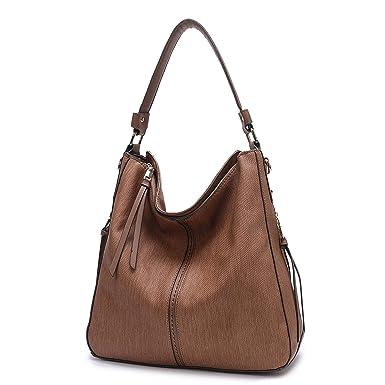 7e04c942ea9 BIG SALE- Hobo Handbags, PU Leather Purses Tote Cross Body Shoulder Bags  Bucket Bag