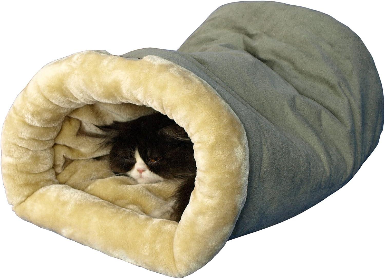 Amazon.com: Cama estilo cueva para gatos y perros ...