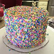 Amazon.com: Edible Confetti Sprinkles Cake Cookie Cupcake