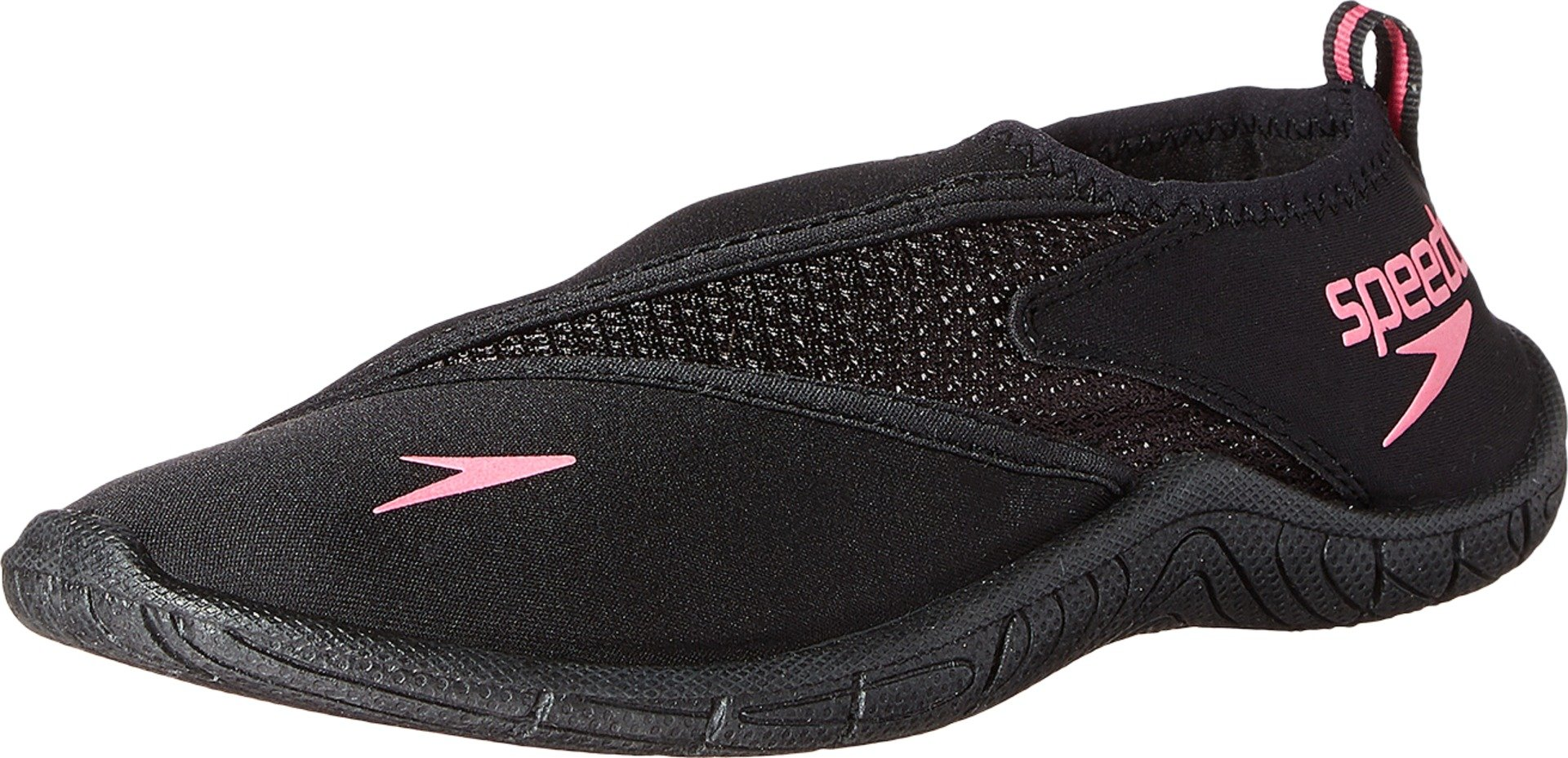 Speedo Women's Surfwalker Pro 3.0 Water Shoe, Black/Pink, 11 by Speedo