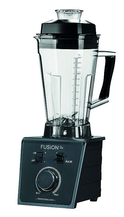 MyWave K12-025 Fusion Batidora de Vaso, 1800 W, 2.5 litros, Negro
