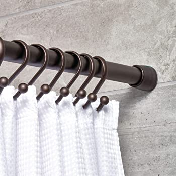 interDesign Cameo Constant Tension Shower Curtain Rod