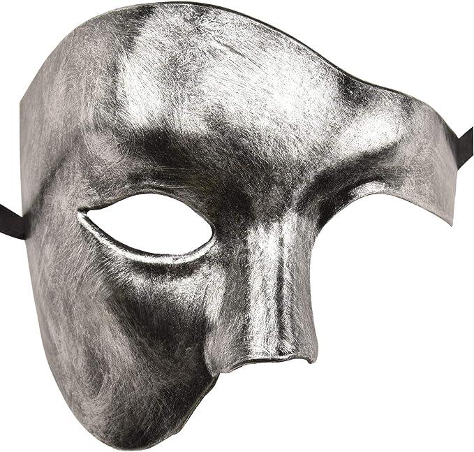 KEFAN Mascarilla para Hombre Máscara para Disfraz Fantasma de la ...