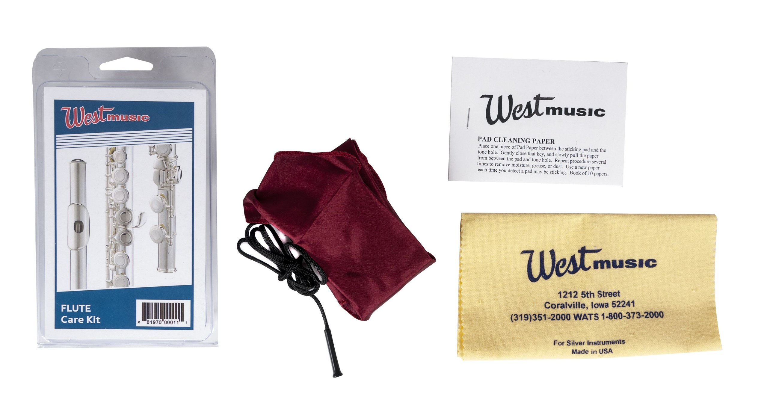 West Music Flute Care Kit