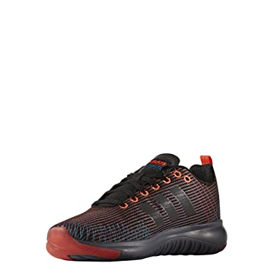 pick up 333ea e9275 adidas Mens Cloudfoam Super Flex Gymnastics Shoes, Nero NegbasRojsol 6.5  UK