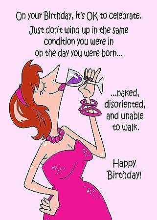 Funny Irish Birthday Cardby Impi Ireland