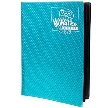 Monster Protectors Carpeta 9 Pocket Monster Carta álbum Aqua ...
