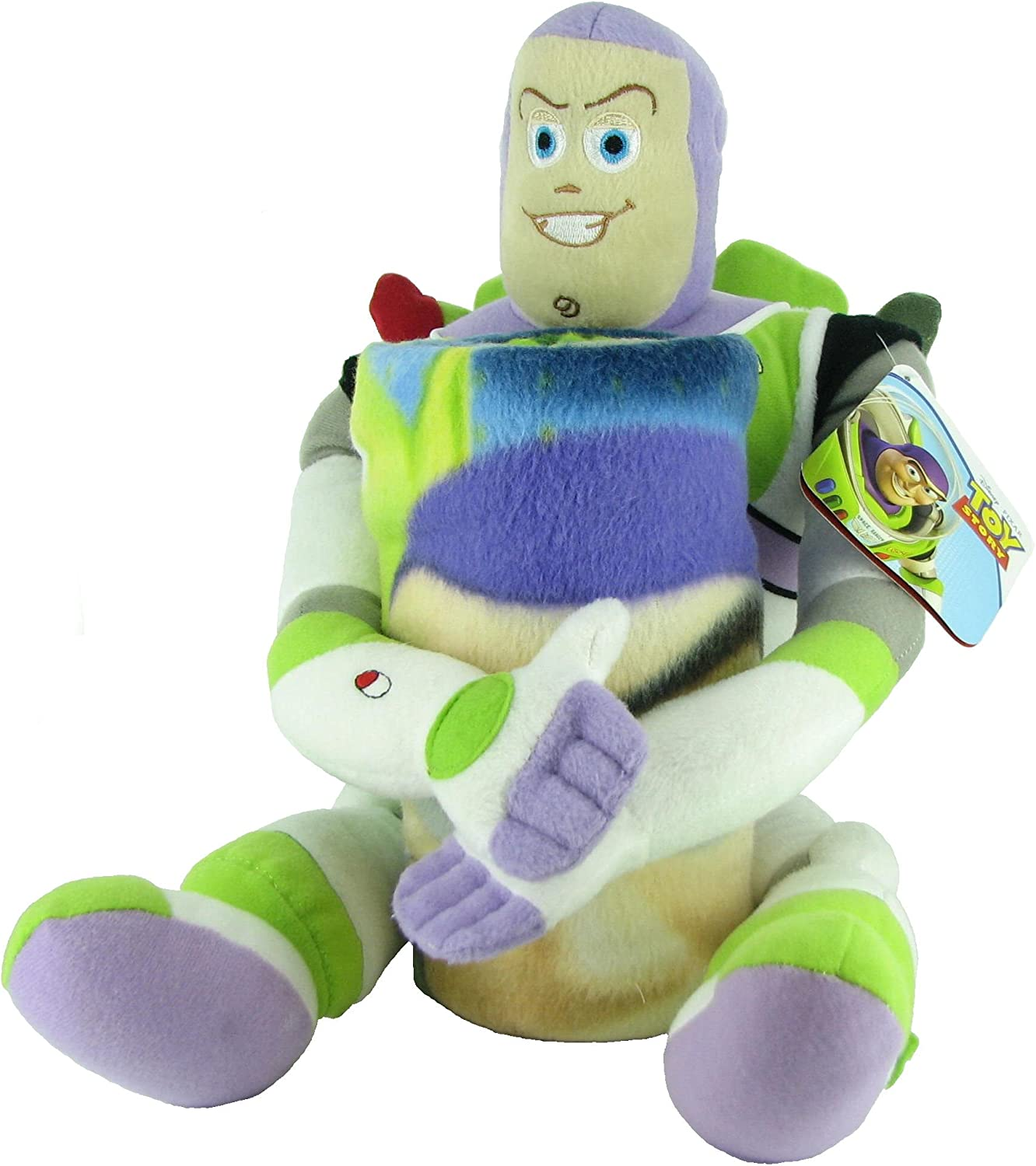 "B005589LFW Toy Story Buzz 22"" Inches Plush Toy / Pillow Set and Throw Blanket 814IdJlvVyL.SL1500_"