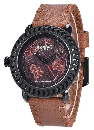 Amazon.com: DOVODA Map Watches for Men Left Handed Analog Quartz ...