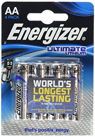 LR3-1250 mAh 1,5V LR03 8x Energizer AAA ULTIMATE LITHIUM BATTERIEN L92