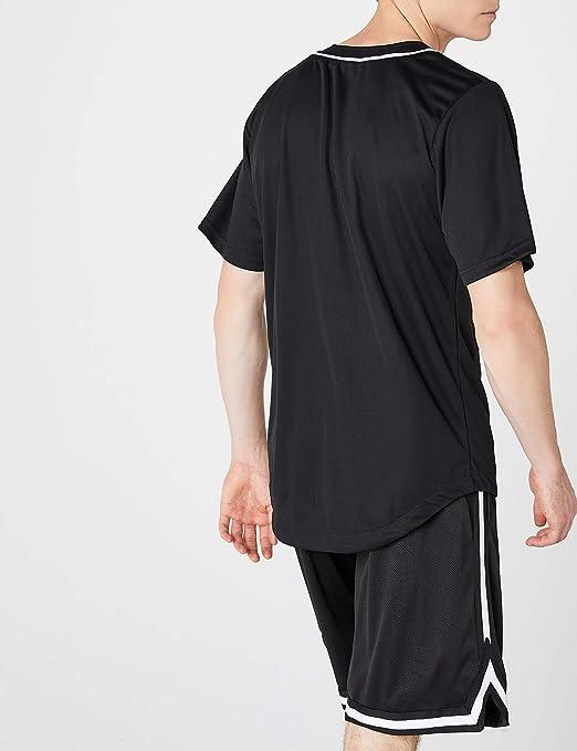 Urban Classics Baseball Mesh Jersey, Camiseta para Hombre: Amazon.es: Ropa y accesorios