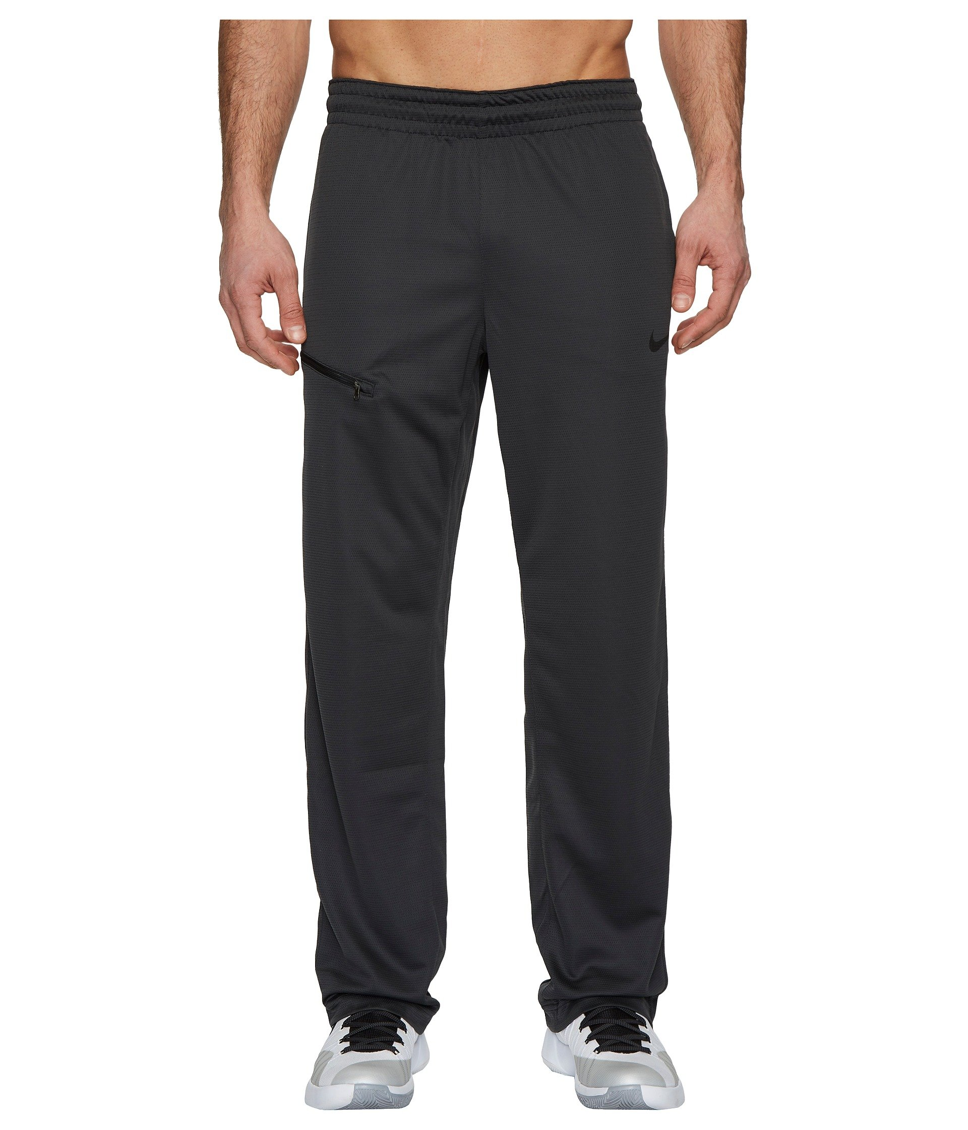 NIKE Men's Dry Rivalry Pants, Anthracite/Black, S by Nike