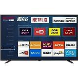 Sharp LC-40UI7352K 4K Ultra HD Smart 40-inch TV with Freeview HD (2018 model), Black