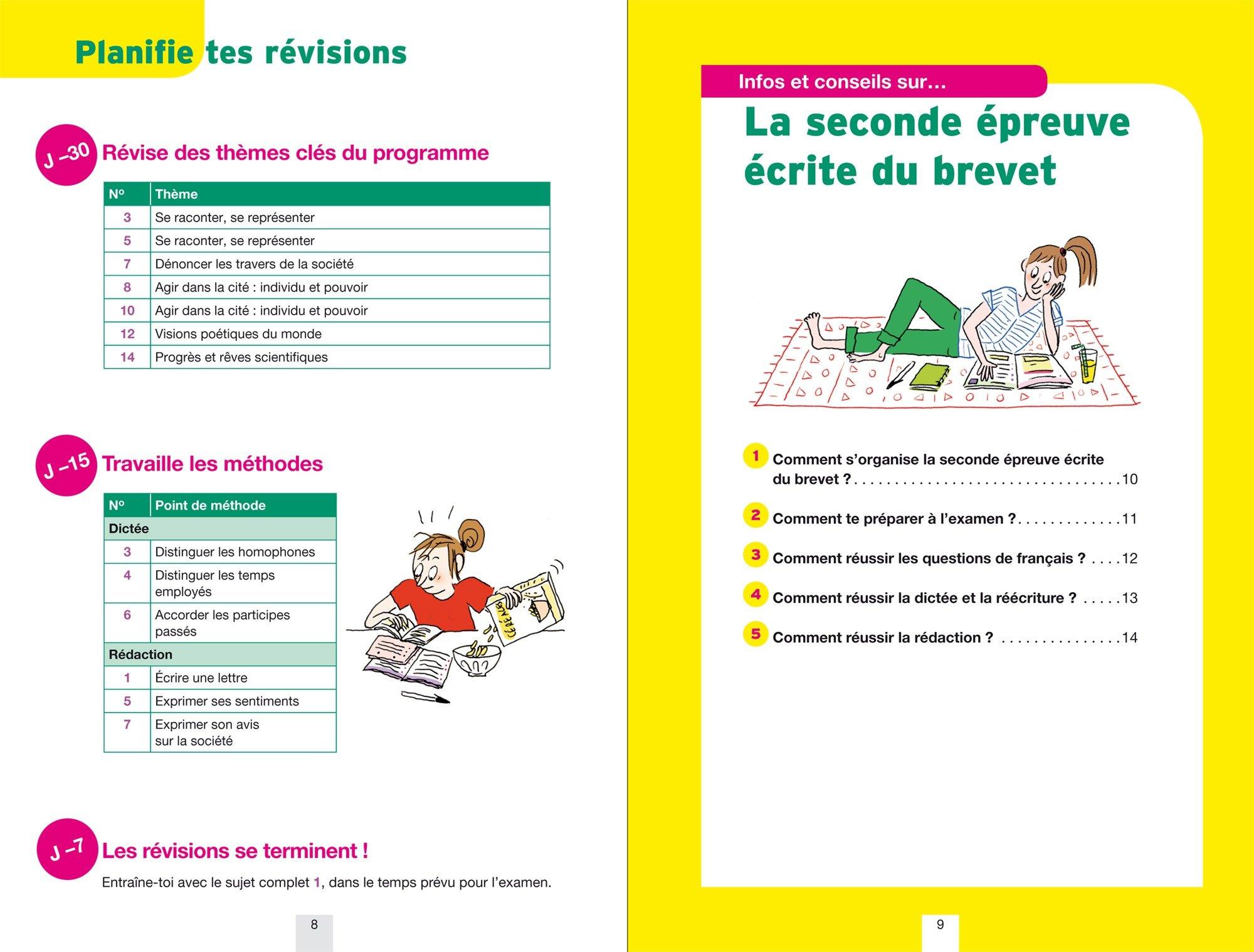 Annales Annabrevet 2017 Français 3e: sujets et corrigés, nouveau brevet: 9782401022232: Amazon.com: Books