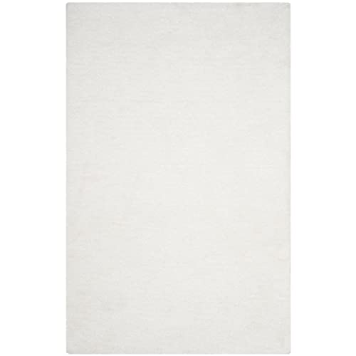 Safavieh Sheep Shag Collection SSG120B Handmade Area Rug 6 x 9