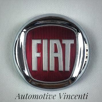 Fregio Stemma Logo FIAT Rosso 500 Punto Multipla Panda Croma