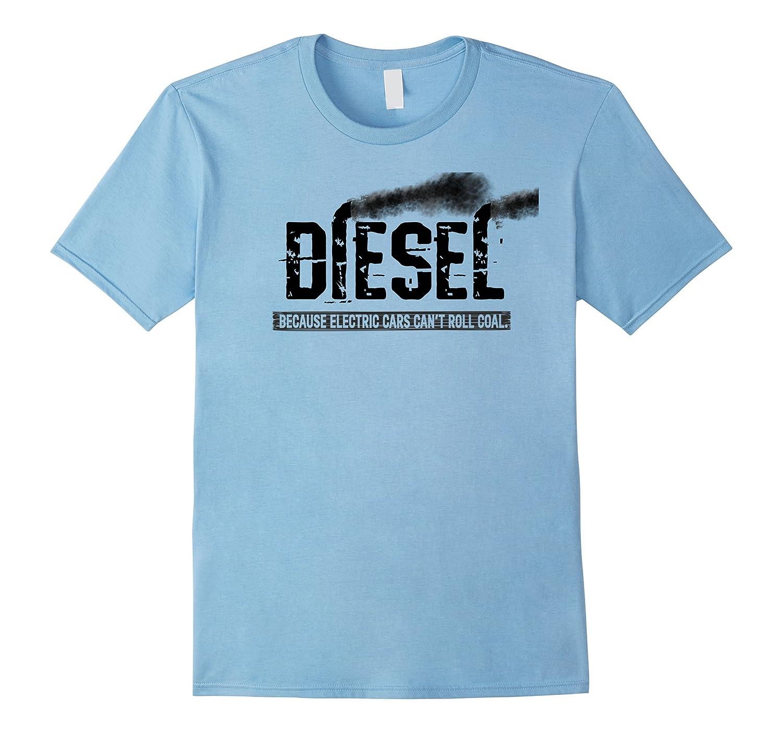 Diesel Rolling Coal T-Shirt Black Smoke Lifted Truck Shirt-Art