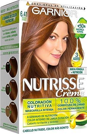 Garnier Nutrisse Coloración, Tono: 6.41 Marron Intenso -1 ...