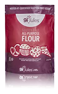 gfJules Gluten Free Flour - Voted #1 by GF Consumers 4.5 lb Bag, Pack of 1