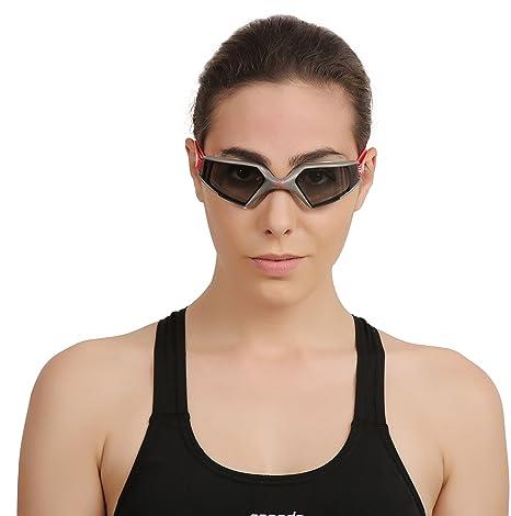 Amazon.com   Speedo Aquapulse Max 2 AU Goggles - SS19 - One - Black ... 6aeea188d3