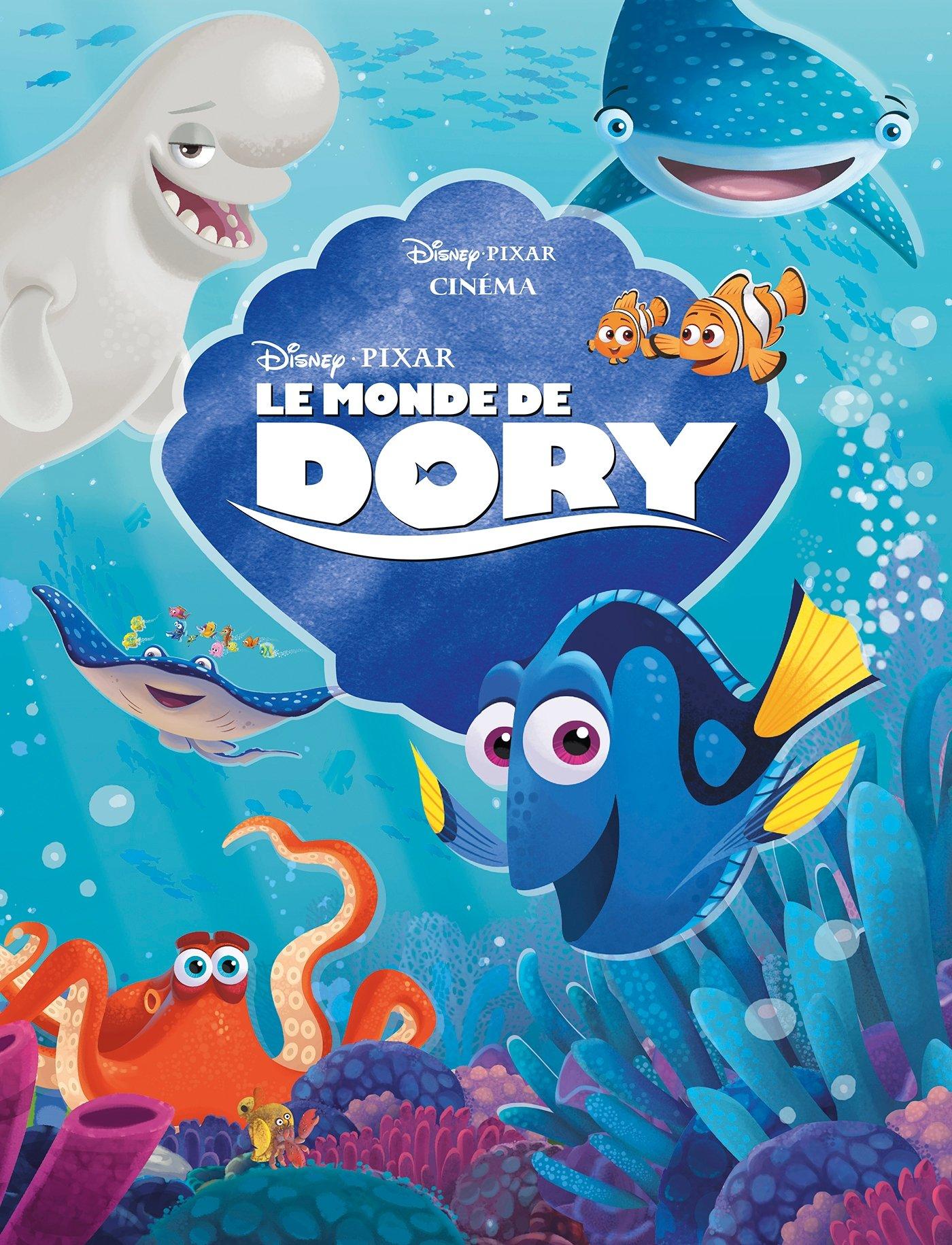 Le Monde de Dory, DISNEY CINEMA Album – 1 juin 2016 Collectif Emmanuelle Caussé 2012804357 Albums