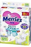 kao 花王 Merries 胶带式纸尿裤 清爽透气 S(4~8kg) 82片