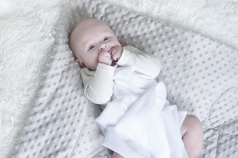 Schlafsack f/ür Neugeborene Bettdecke 74 x 72 cm perfekt als Babyparty-Geschenk BlueberryShop Minky Baby-Wickeltuch geeignet f/ür Kinder im Alter von 0-3 Monaten