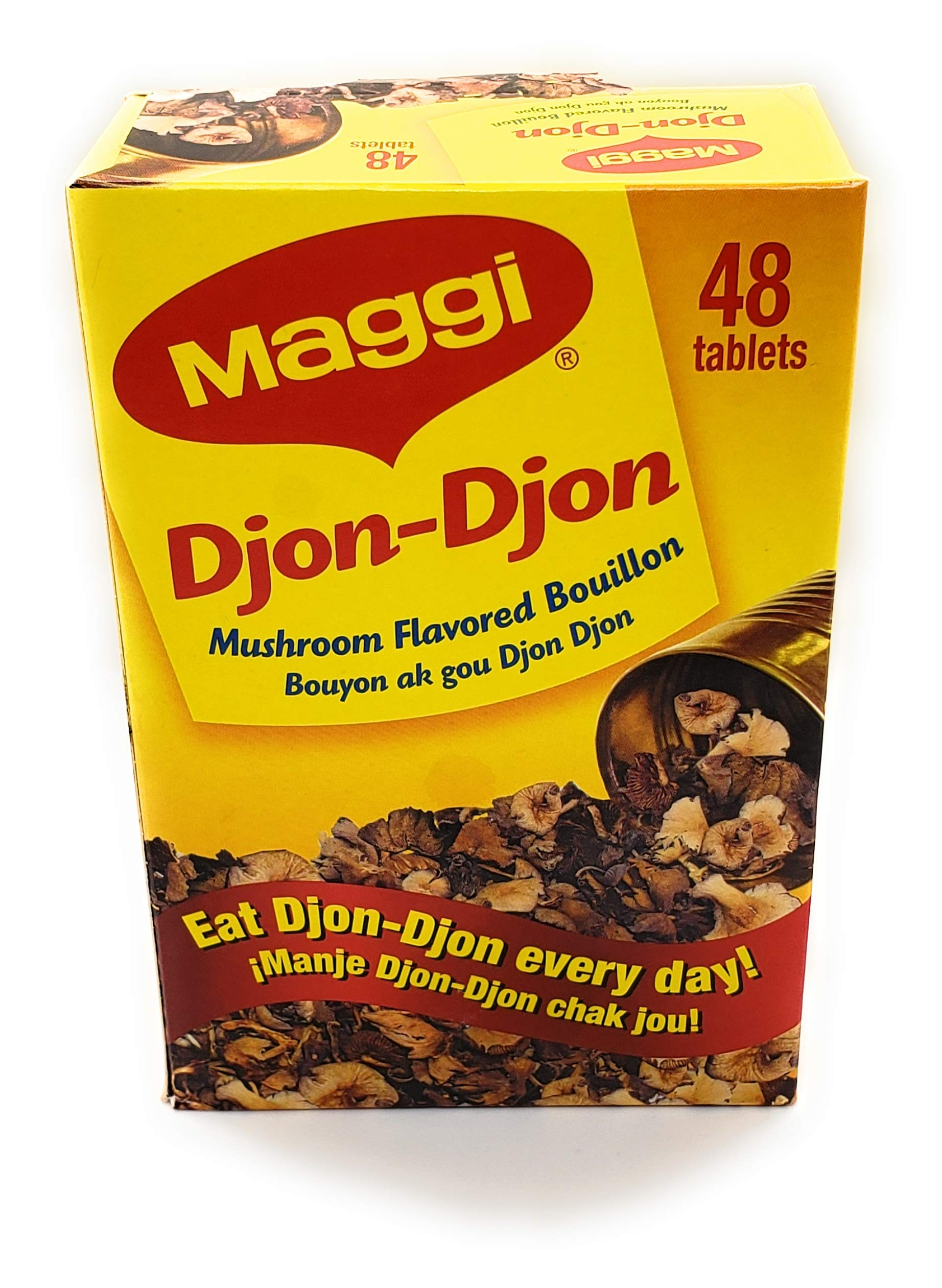 MAGGI Djon Djon bouillon cubes - mushoom flavored 1 box (48 cubes)