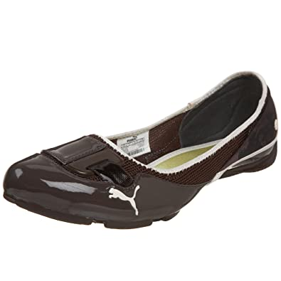 fc65c4ed44c Puma -Saba Ballet Gloss Womens Sneakers, Size:8.5 UK, Color: Chocolate