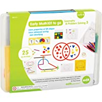 EdxEducation Early Math101 to go - Ages 5-6 - Geometry & Problem Solving - In Home Learning Kit for Kids - Homeschool…