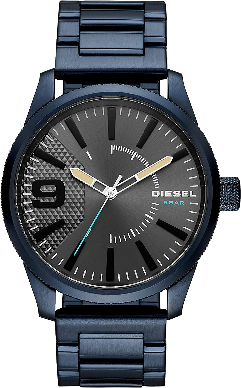 Diesel Reloj Analógico para Hombre de Cuarzo con Correa en Acero Inoxidable DZ1872