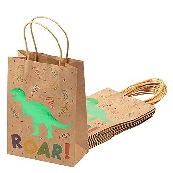 Amazon.com: Dinosaur Bolsas de Regalo - Pack de 24 Bolsas de ...
