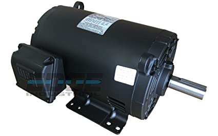 5 Hp Electric Motor >> New 5hp 184t 3 Phase Weg Electric Motor Air Compressor 1760 Rpm 208