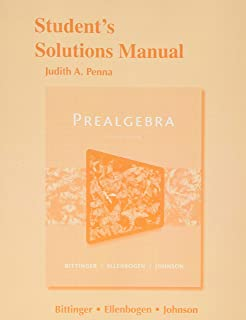 Prealgebra 7th edition marvin l bittinger david j ellenbogen students solutions manual for prealgebra fandeluxe Gallery