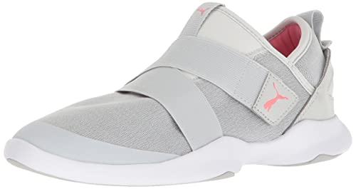 03683eda5c3 PUMA Women s Dare AC Sneaker Gray Violet-Shell Pink 5.5 ...