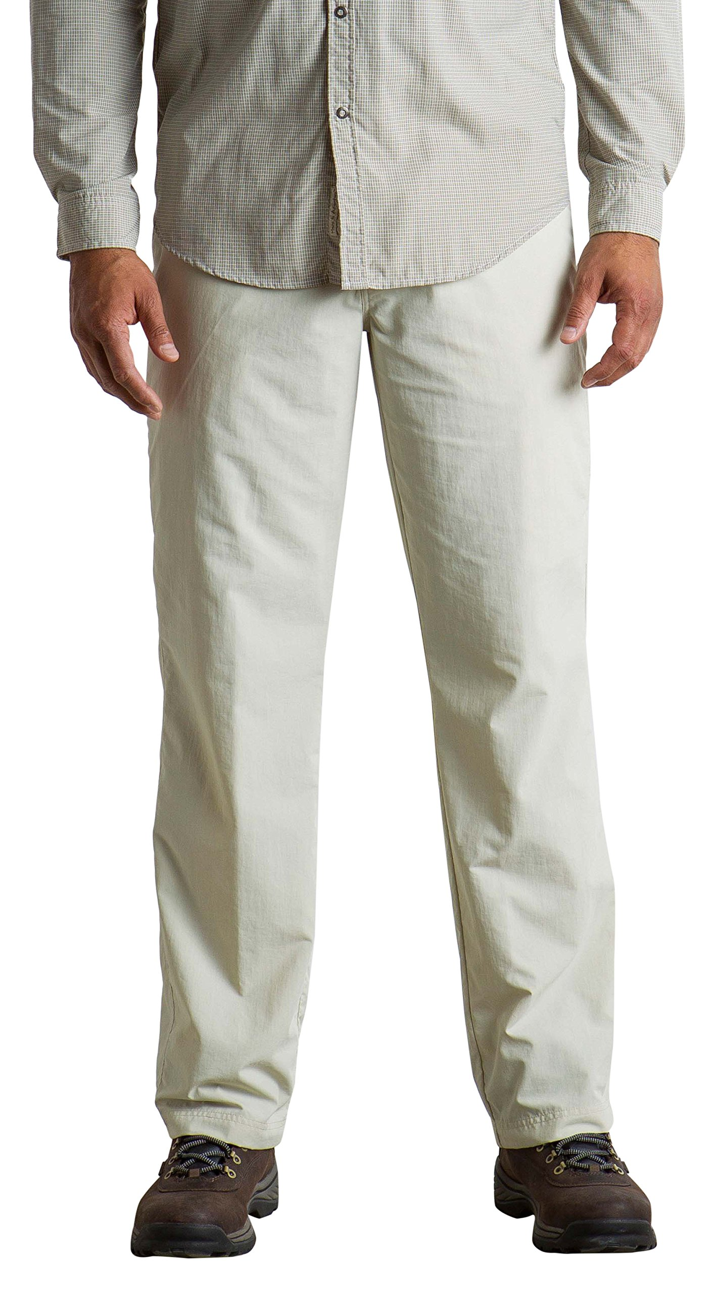 ExOfficio Men's Sol Cool Nomad Lightweight Casual Pants, Light Stone, Size 34