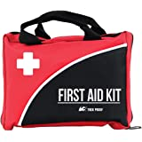 Compact First Aid Kit for Medical Emergency - for Home, Car, Camping, Hiking, Sport, Work, Office, Boat, Survival, and Travel