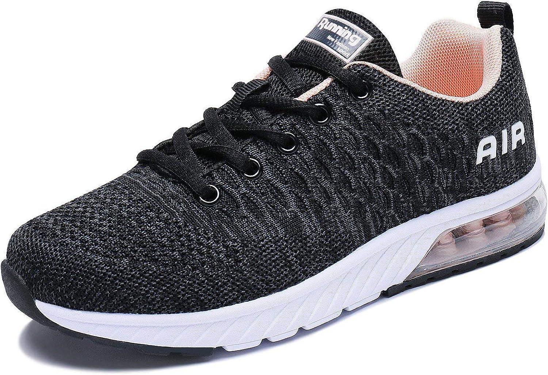 PENGCHENG Men Women Air Cushion Running Shoes Tennis Fitness Gym Lightweight Sneakers