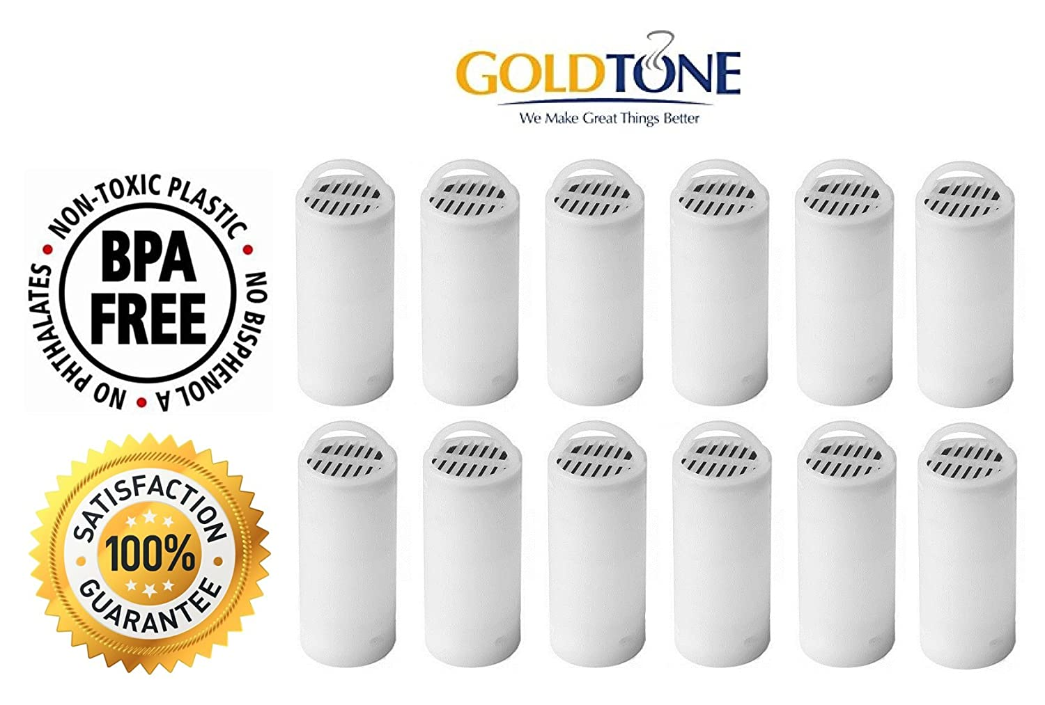 GoldTone Brand Pet Fountain Charcoal Water Filter fits Drinkwell 360 Drinkwell 360 Stainless Multi Pet Fountains. Replaces your Drinkwell 360 Pet Fountain Water Filter