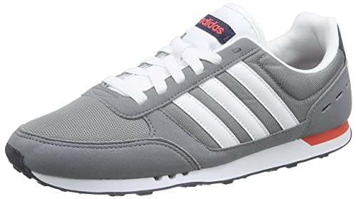 Adidas Neo City Racer F99332 Color: Grey Navy Blue Red
