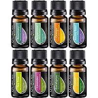 Juego de aceites esenciales – 8 aceites esenciales para difusor, humidificador, masaje, aromaterapia y alma – árbol de…