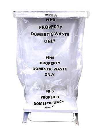 30L pequeño claro bolsas de basura/bolsas (500 bolsas ...