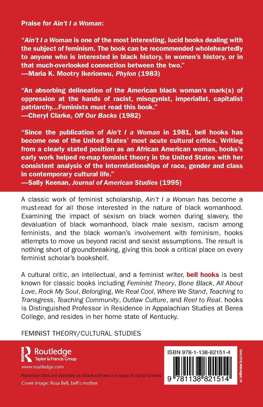 ain t i a w black women and feminism bell hooks ain t i a w black women and feminism bell hooks 9781138821514 books ca