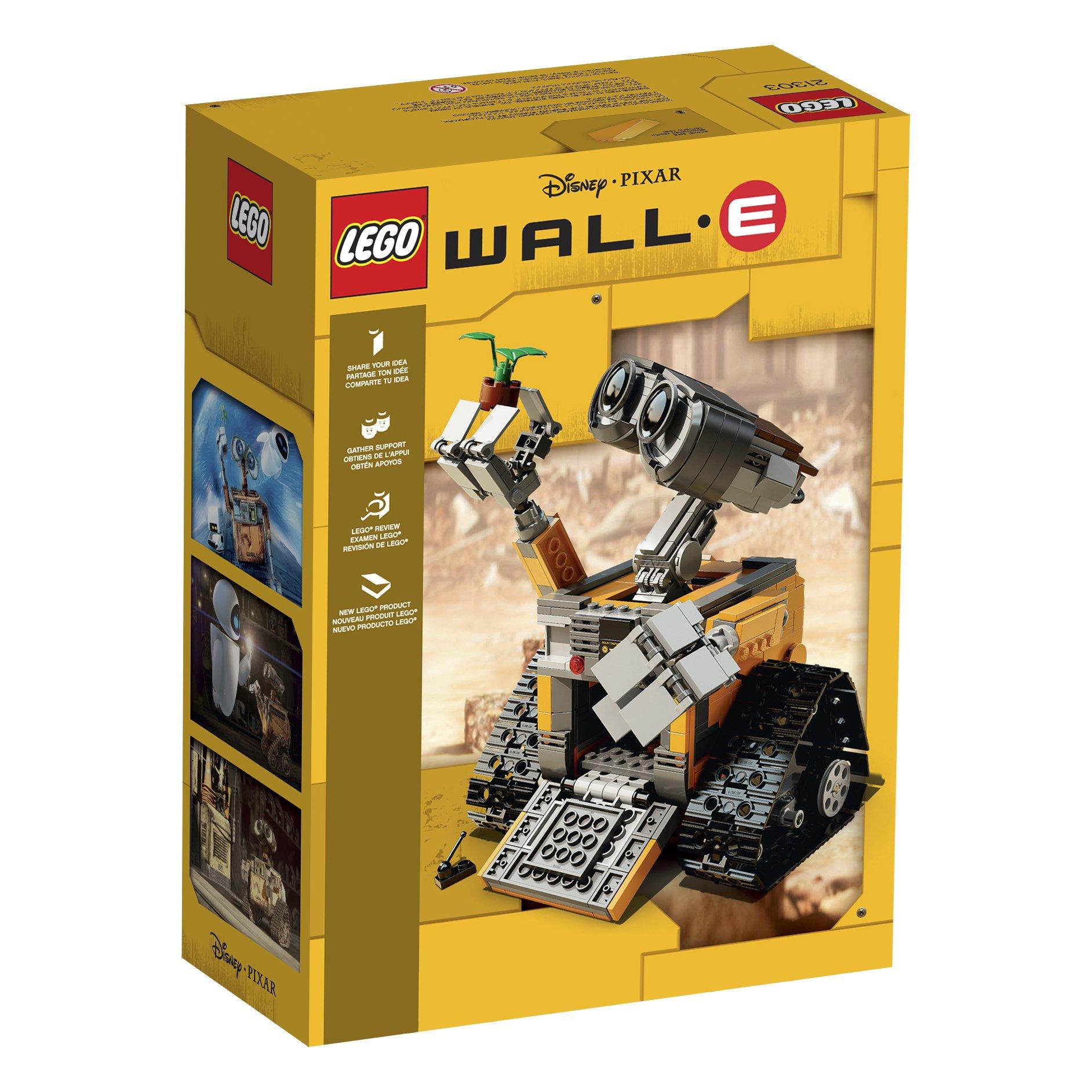 LEGO Ideas WALL E 21303 Building Kit by LEGO (Image #6)
